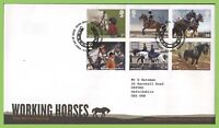 G.B. 2014 Working Horses set Royal Mail First Day Cover, Tallents House