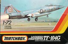 +++ LOCKHEED TF-104G 'STARFIGHTER' + 1/72 SCALE KIT by MATCHBOX +++