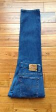 VTG Levi's 505 Lower Rise Straight Leg 10 W30 L31 R10.5 HIGH WAIST MOM Jeans