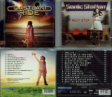 2 CD, COASTLAND ride-distance (2017) + sonic station-Next stop +4 (2014)