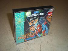 Spiderman vs Kingpin. SEGA MEGA CD PAL. sostituzione caso + Inlay solo. nessun gioco