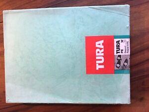 Papier photographique ancien TURA - 17,8*24cm
