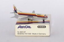 Schabak Boeing 737-3A4 AirCal / Air Cal 2nd version in 1:600 scale in 1:600 scal