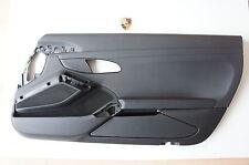 Porsche 991 981 Boxster Tür Türverkleidung Verkleidung VR Kunstleder Schwarz