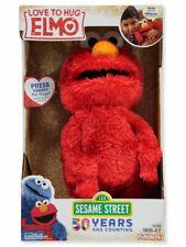 "Sesame Street Love to Hug Elmo Talking, Singing, and Hugging 14"" Plush Toy- NIB"