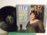"Ella Fitzgerald,Verve,""Whisper Not"",US,LP,mono,Still In Shrink,deep groove,MINT"