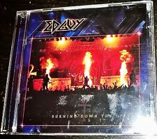 CD METAL EDGUY - BURNING DOWN THE OPERA LIVE (2003) 2CD ALLEMAGNE
