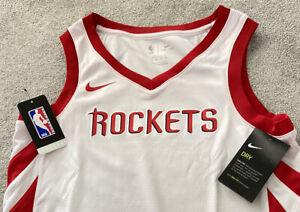 Mens Nike NBA Houston Rockets Dri-Fit Jersey Vest Casual Basketball Gym S M L XL
