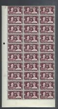 GB 1937 KGVI 1½d 1937 CORONATION BLOCK OF 30 MNH (FEW SPOTS ON BACK)