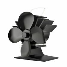NEW 2018 Small 4 Blade Stove Top Fan  for Wood Burners & Multi Fuel Gas Stoves