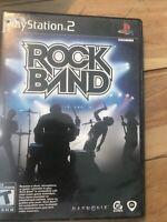 Rock Band ( PS2 Playstation 2 ) TESTED