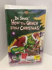 Grinch 2000 Original VHS Dr. Seuss How The Grinch Stole Christmas!