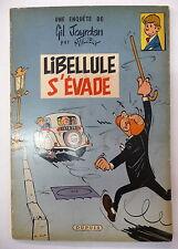 gil jourdan libellule s'evade 1959 maurice tillieux spirou dupuis eo