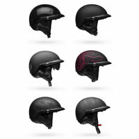 2020 Bell Pit Boss Half Shell w/ Visor Motorcycle Helmet - Pick Size & Color