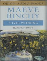 The Silver Wedding Maeve Binchy 2 Cassette Audio Book Kate Binchy FASTPOST