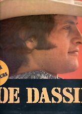 JOE DASSIN same WITH POSTER HOLLAND 1971 EX LP
