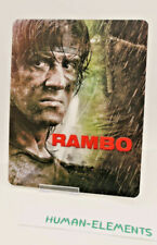 JOHN RAMBO - 3D LENTICULAR Flip Magnet Cover TO FIT bluray steelbook