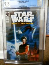STAR WARS: HEIR TO THE EMPIRE #1 CGC 9.8 (COMIC PACK #25) FIRST THRAWN ONLY 9.8