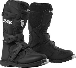 Thor Youth XP Blitz Boots Size 1 Black