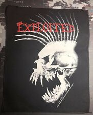 The Exploited Back Patch E004P Discharge Amebix GBH BGK