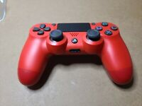 Sony Playstation 4 DualShock Wireless Controller Magma Red - CUH-ZCT2U (8820)