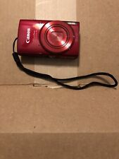 Canon PowerShot ELPH 190 IS 20.0 MP Digital Camera - Red