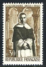 France 988, MNH.Jean Baptiste Henri Lacordaire,Catholic leader,death cent., 1961