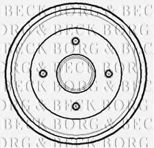 Rear Brake Drums Borg & Beck, without Classic Car Part