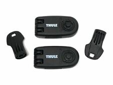 Thule 986 Wheel Strap Locks and Keys for 591 598 Bike Cycle Carriers