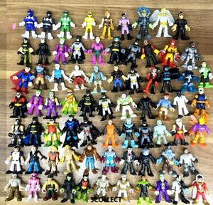 Up 100+ Fisher Price Imagimext DC Super Friends Power Ranger Figures-Your Choice