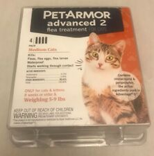 New listing 4 Pack PetArmor Advanced Flea Treatment for Cats 5-9lbs New Free Shipping