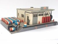 Kibri H222 Esso Tanklager mit viel Ausstattung Spur H0 D0505