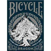 Bicycle Poker Playing Cards - Dragon - 1 SEALED DECK - New