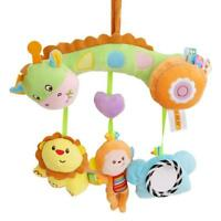 Baby Newborn Rattles Plush Animal Crib Stroller Hanging Bell Doll Bed Toys LD