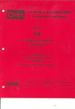 907-12 Onan HA Controls Wiring Diagrams/Parts Listings New