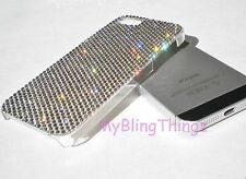 12ss CRYSTAL No Sides Bumper Back Case for iPhone 4 4S made w/Swarovski Elements