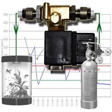 Co2 Notte Spegnimento valvola solenoide regolatore di pH metri sistema VALVOLA ACQUARIO mv1