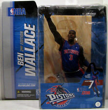 McFarlane Nba Series #7_Ben Wallace figure with Cornrows_Variant_Detroit Pistons