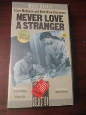 Never Love a Stranger    VHS Video Tape