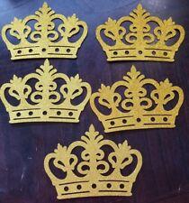5 pcs BabyShower Decoration Prince/ Princess Foam gold crown