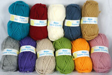 Acrylic Plain 6-Super Bulky Craft Yarns