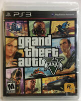Grand Theft Auto V (PlayStation 3 PS3) New Sealed! See Pictures!