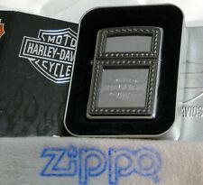 ZIPPO HARLEY DAVIDSON Lighter  H-D MIRRORED  In Tin Sleeve UNUSED Emblem SEALED