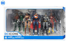 DC ICONS Rebirth Justice League of America JLA 7-Pack Action Figures Set MISB