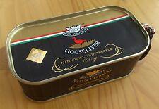 Hungarian GOOSE LIVER au naturel with TRUFFLE 100g / 3.5oz 91% Foie Gras content