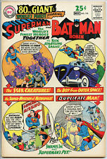 WORLDS FINEST 170 DC Comic VF 8.0 SUPERMAN BATMAN 1967 80 PAGE GIANT #40 CGC IT