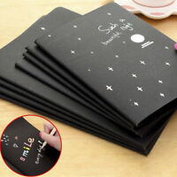 Novelty Black Paper Soft Cover Sketch Book Diary for Drawing Painting Graffiti