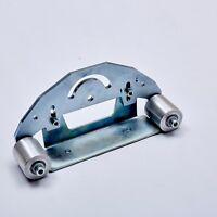 """TR MAKER Belt Grinder D-Backing plate for 2x72"""" knife making grinder with wheels"""