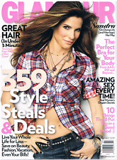 GLAMOUR Magazine 2009 July: SANDRA BULLOCK, More Celebrities! Beauty, Sex tips!