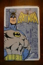 Plaque en tôle Batman - Plaque murale Batman